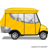 4 Passenger Enclosure Yellow with Valance
