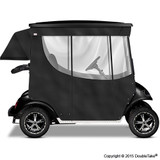 Doubletake 2 Passenger Golf Cart Enclosure Black