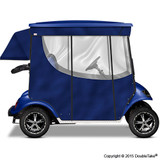 Doubletake 2 Passenger Golf Cart Enclosure Blue