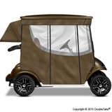 Doubletake 2 Passenger Golf Cart Enclosure Bronze