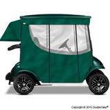 Doubletake 2 Passenger Golf Cart Enclosure Green