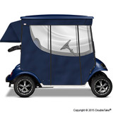 Doubletake 2 Passenger Golf Cart Enclosure Navy