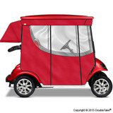 Doubletake 2 Passenger Golf Cart Enclosure Red