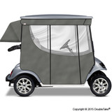 Doubletake 2 Passenger Golf Cart Enclosure Silver