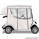 Doubletake 2 Passenger Golf Cart Enclosure White