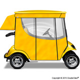 Doubletake 2 Passenger Golf Cart Enclosure Yellow