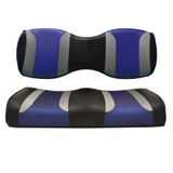 Madjax Tsunami Black W/ Liquid Silver Rush & Freestyle Wave Custom Rear Seat Cushions