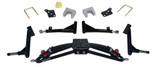 "Jake's Club Car Precedent 6"" Double A-arm Lift Kit w/ H/D Rear (Fits 2004-Up) (7477) Golf Cart Lift Kit"