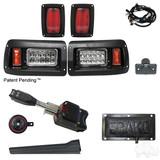 Rhox Adjustable light kit, Led Bulbs, CLUB CAR DS 93+  (Standard, Pedal Mount)