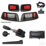 LED Adj. Light Kit, E-Z-Go TXT 96-13 (Standard, Pedal Mount)