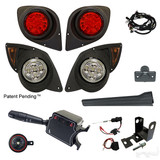 LED Factory Light Kit, Yamaha Drive 07-16 (Deluxe, Bracket)