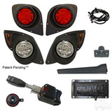 LED Factory Light Kit, Yamaha Drive 07-16 (Deluxe, Pedal Mount)