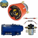 High Performance Street Package EZ-GO TXT 48V Golf Cart Motor, Controller