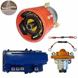 High Performance Mild Hills Package EZ-GO TXT 48V Golf Cart Motor, Controller