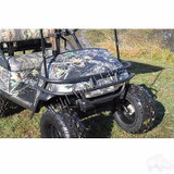 Golf Cart Black Powder Coated Steel Front Brush Guard for EZGO Med/TXT 96-13