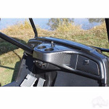 Yamaha Drive Golf Cart Car Dash Board Carbon Fiber 2 Locking Compartments 4 Cup