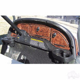 Club Car Precedent 2004-2008.5 Golf Cart Car Dash Board Cover Woodgrain