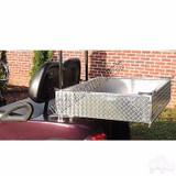 Golf Cart Club Car DS Heavy Duty Diamond Plate Aluminum Utility Box Kit