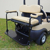 Club Car Precedent Rear Seat Kit with Beige Cushions Club Car Rear Seat