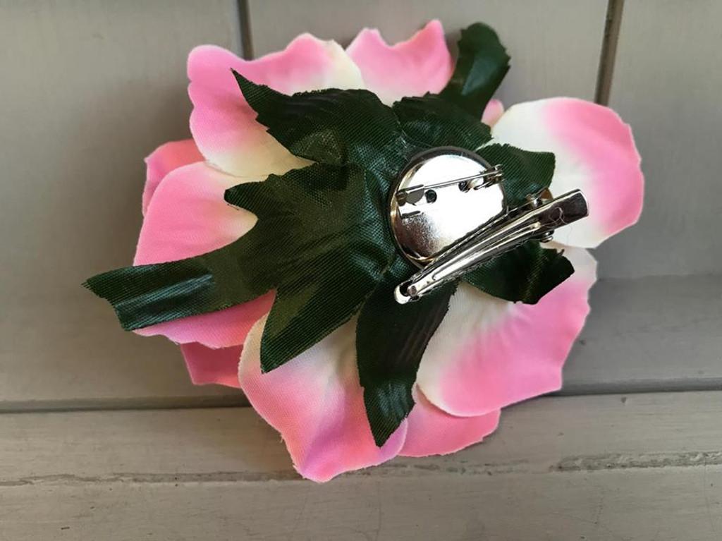 Pin Up Hair Roses - Hot Pink