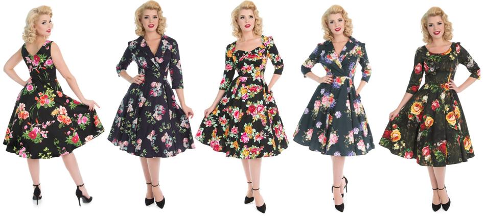 1950s Vintage Retro Reproduction Full Circle Dresses Bridgend South Wales Cardiff Swansea