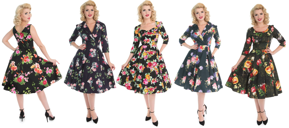 1950s Vintage Retro Reproduction Full Circle Dresses Bridgend South Wales Cardiff Swansea