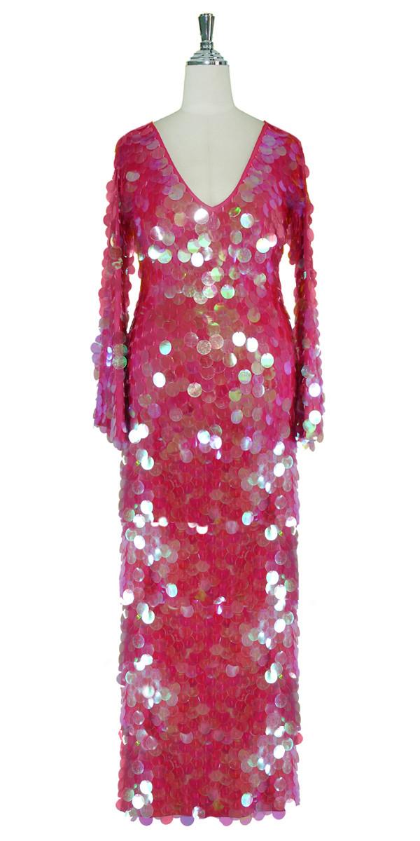 Long Sleeve Dress | Handmade | Paillette Sequin Spangles ...
