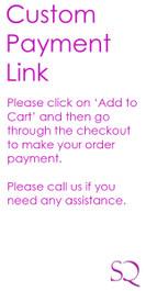 Custom Order Payment SKU-CO5