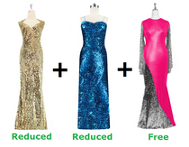 Buy Two Long Express Dresses With Discounts On Both And Get One Long Express Dress Free (SPCL-010)