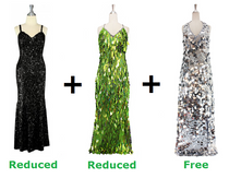 Buy Two Long Handmade Dresses With Further 20% On Both And Get One Long Handmade Dress Free (SPCL-012)