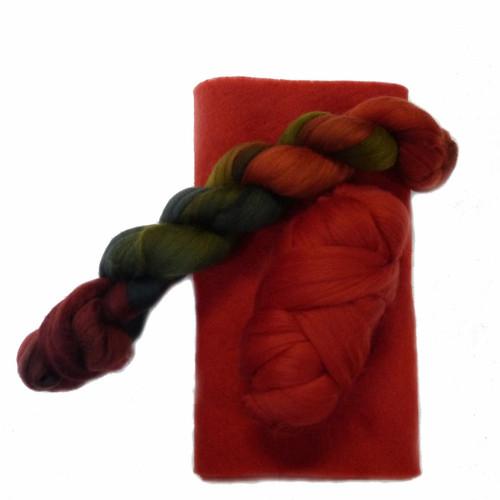 Paprika Ruffle Scarf Kit
