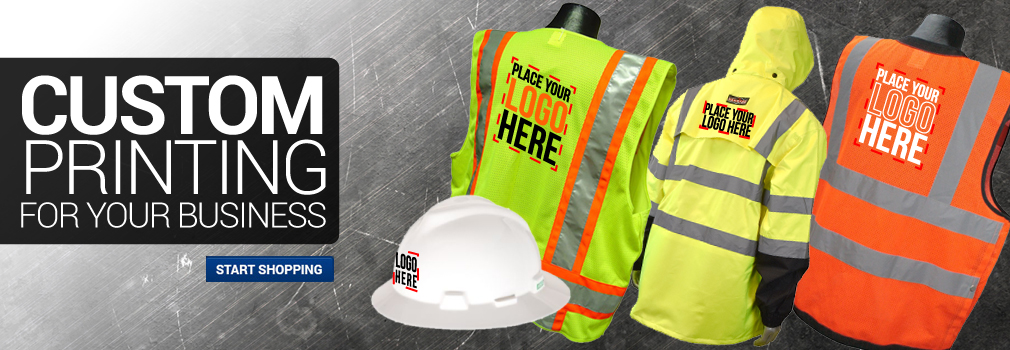 Custom Printing for your Business - Industrial Safety Products