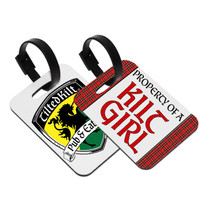 Kilt Girl Baggage Tag