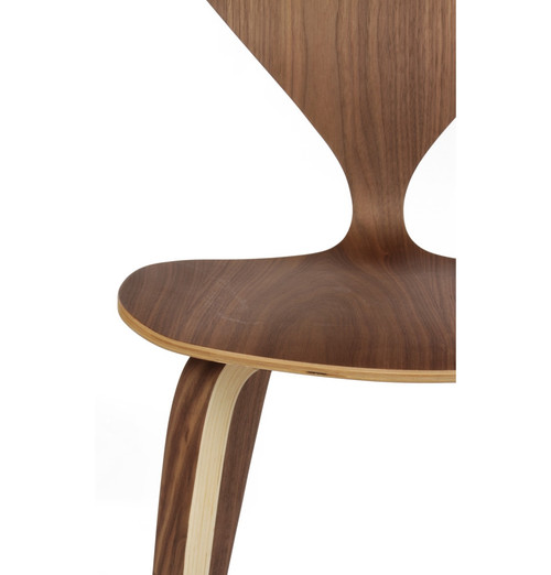 Satine Molded Plywood Bar Stool