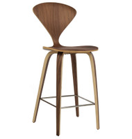 Satine Molded Plywood Inspired Bar Stool