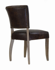 Adele Leather Side Chair