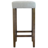 Ash Bar Stool in Beige
