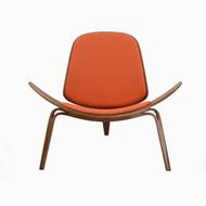 Athena 07 Lounge Chair in Orange