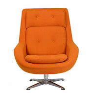 Copy of Koppla Swivel Chair in Orange