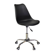 Charles Jacobs Style Office Chair in Black