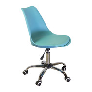 Charles Jacobs Style Office Chair in Teal