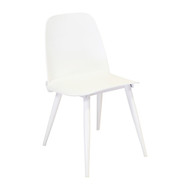 Nerd Replica Chair in White