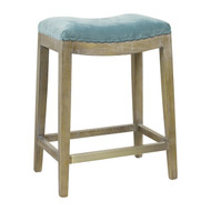 Harper Counter Stool In Peacock