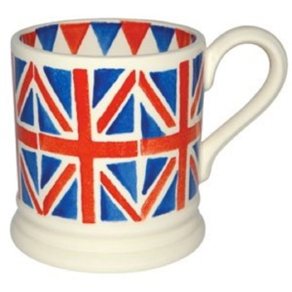 Union Jack 1/2 Pint Mug Boxed