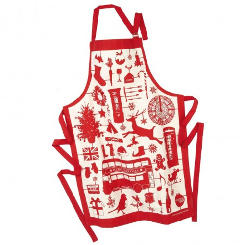Airfix Christmas Apron - Red