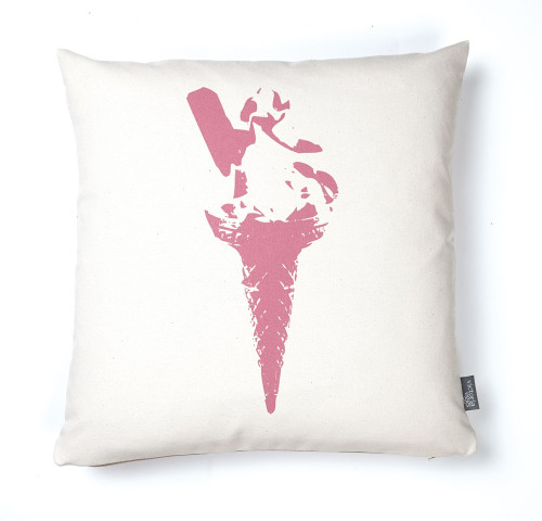 Ice Cream Delight Cushion - Pink