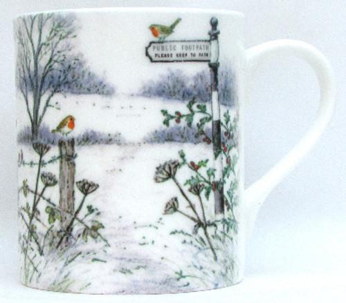 A Winter's Footpath Mug