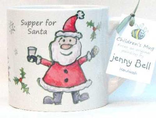 Supper for Santa Child's Mug