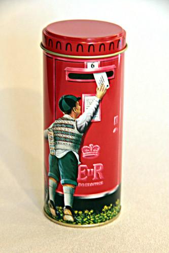 British Postbox Tin