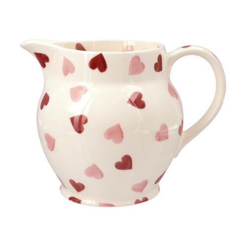 Emma Bridgewater Pink Hearts 1 1/2 Pint Jug